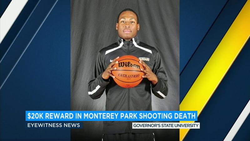 $20,000 reward offered in East LA slaying of college basketball player