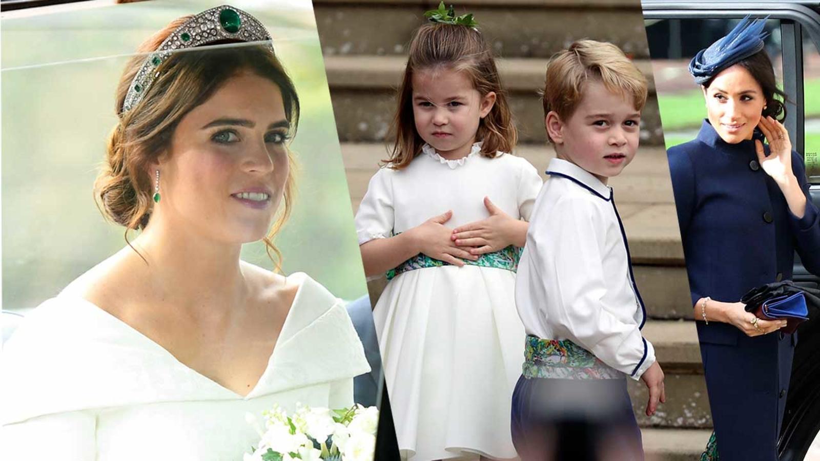 Princess Eugenie Wedding Photos Sarah Ferguson Duchess Kate