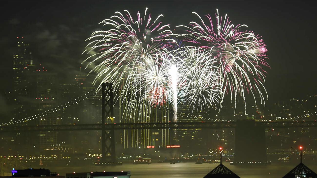 fireworks san francisco nye
