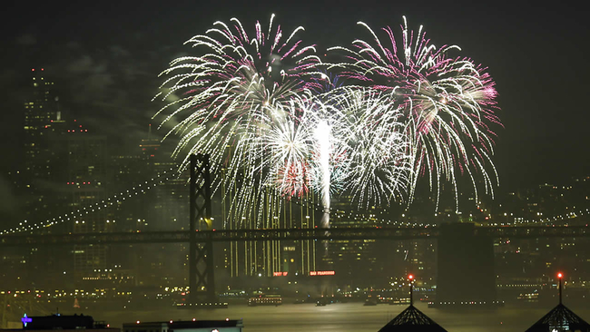 Image result for San Francisco Waterfront new year