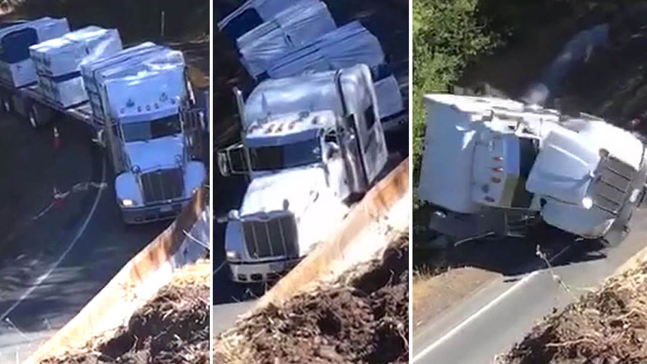 Truck crash | abc7 com