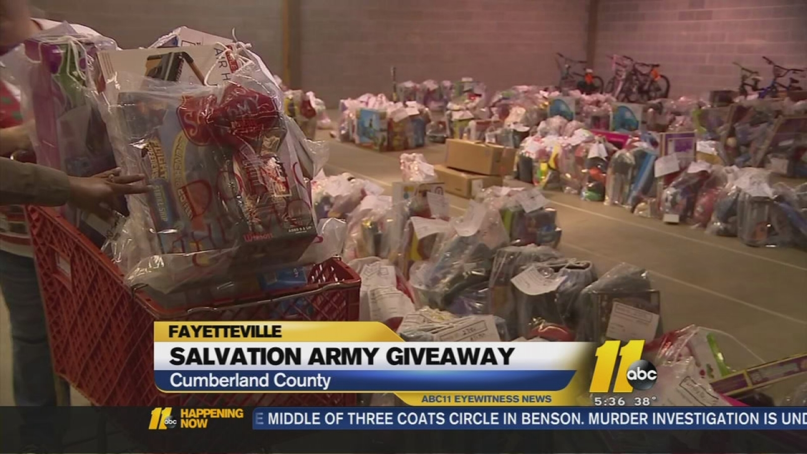 Salvation Army Of Fayetteville Provides Christmas Cheer