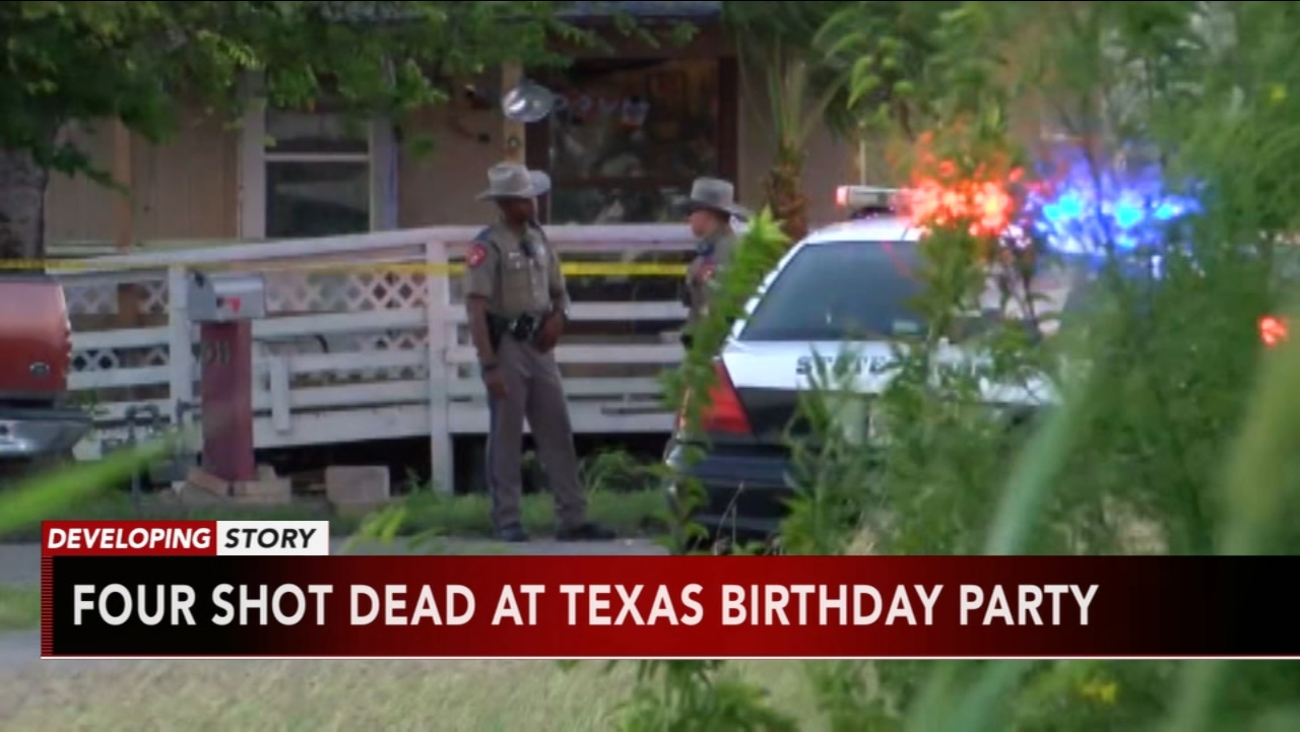4 Men Killed In Shooting At Childs Birthday Party Texas