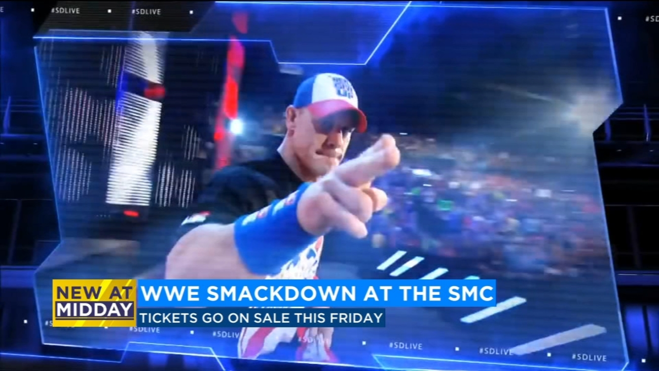 WWE will bring the Smackdown to the Save Mart Center | abc30.com