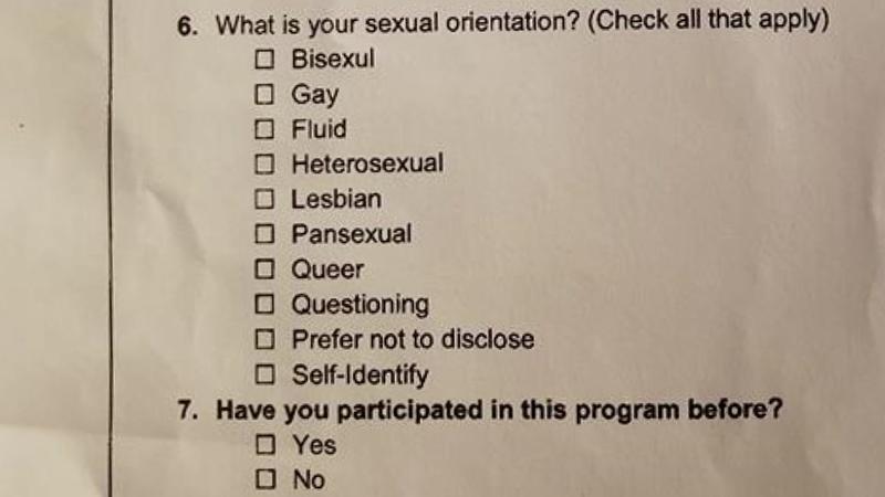 Parent upset after school survey asks 11-year-olds about sexual orientation