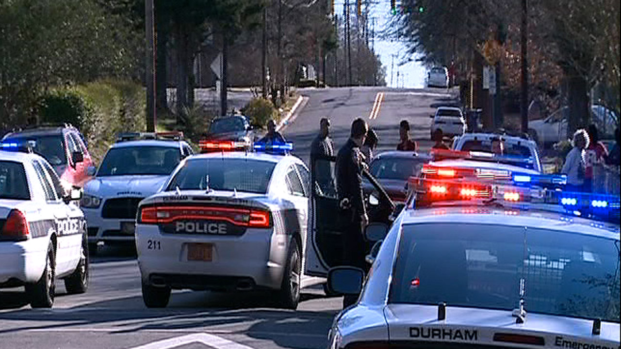 Police chase Durham