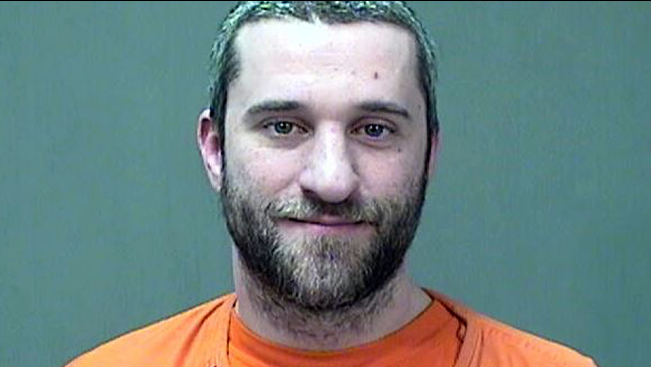 This Friday, Dec. 26, 2014 booking photo provided by the Ozaukee County Sheriff shows Dustin Diamond.(AP Photo/Ozaukee County Sheriff)
