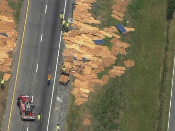 PHOTOS: I-95 accident in Johnston County | abc11 com