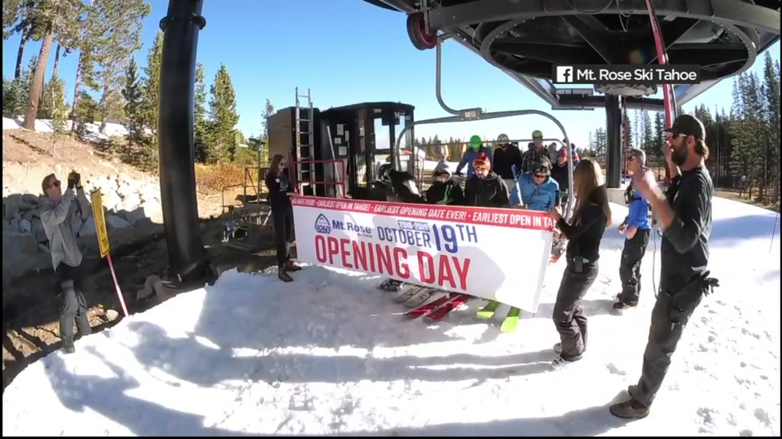 Here's when every Lake Tahoe resort opens