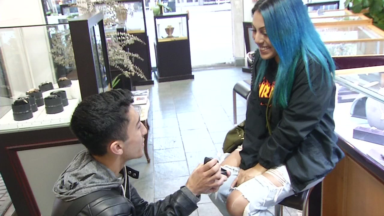 SF jeweler surprises couple with new engagement ring after original one stolen