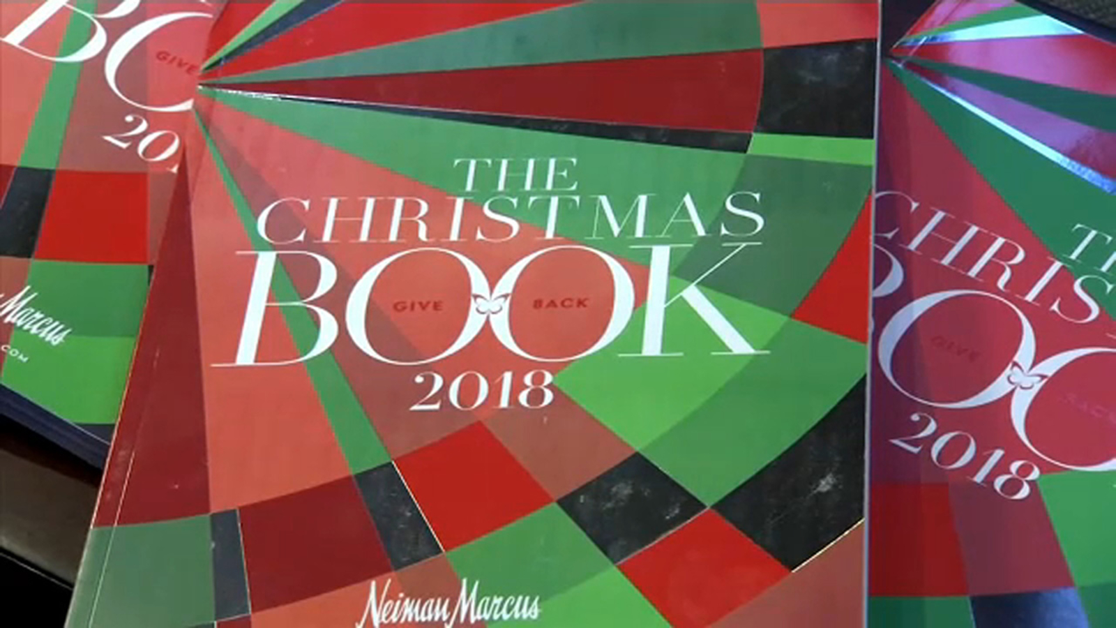 Neiman Marcus Unveils Gift Ideas In The Christmas Book 2018 Abc7ny