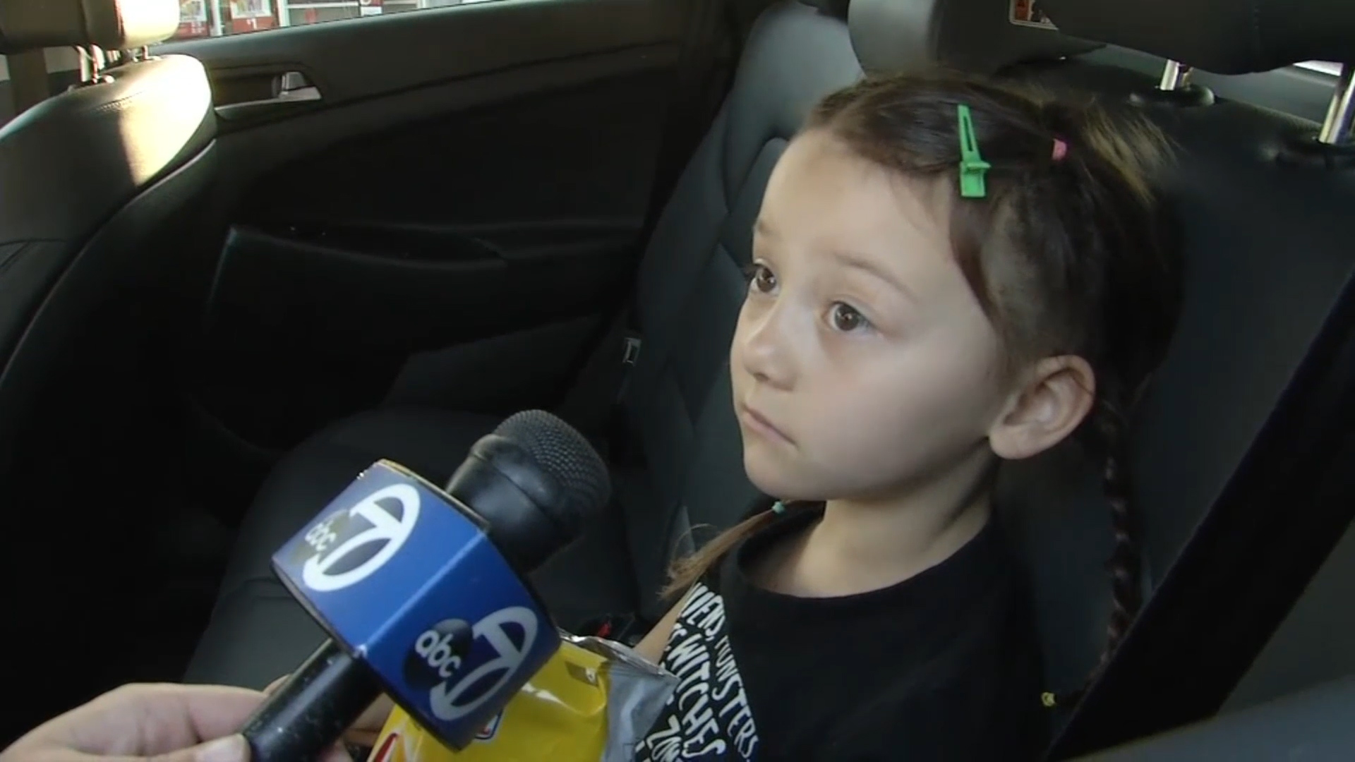 5-Year-Old Behind The Wheel During A Scary School Bus Crash photo