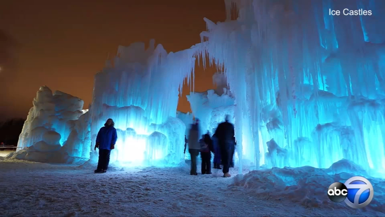 Ice Castles in Lake Geneva, Wisconsin set to close for ...