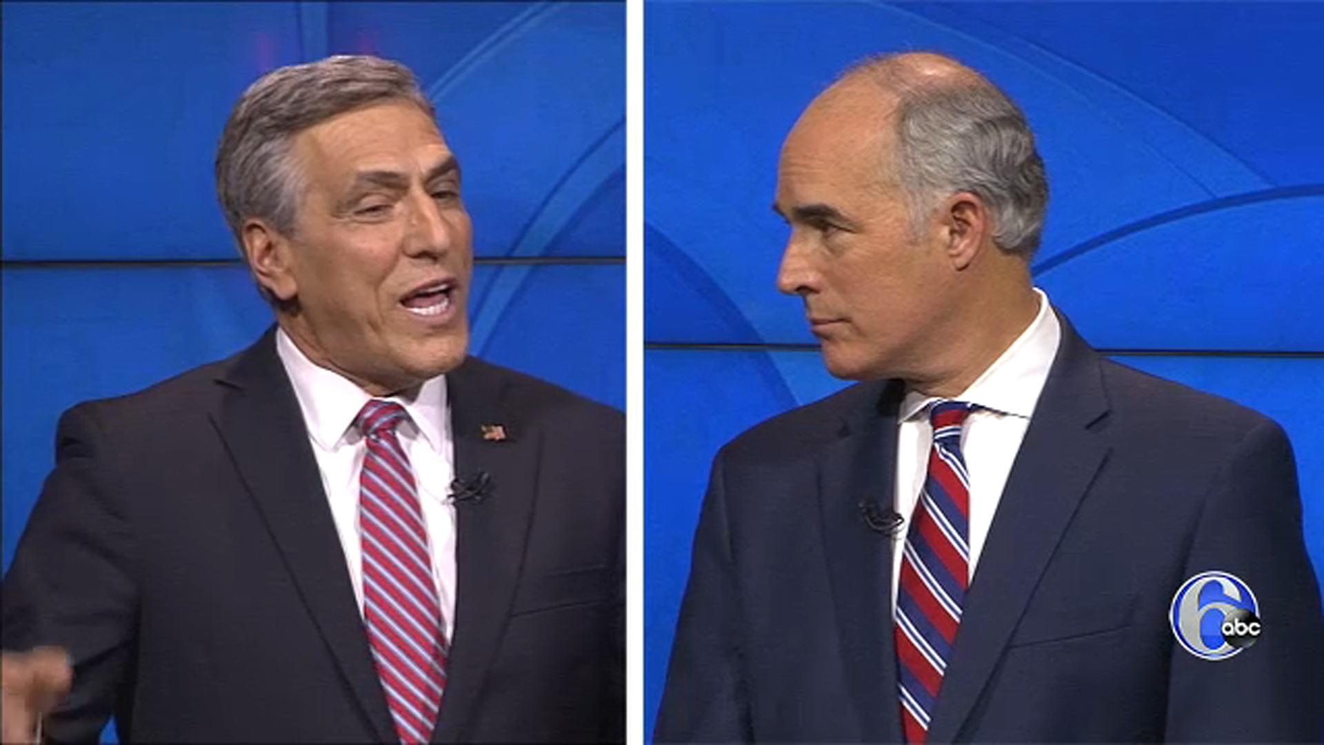 Watch The Pa Senate Debate Between Bob Casey And Lou Barletta 6abc Com