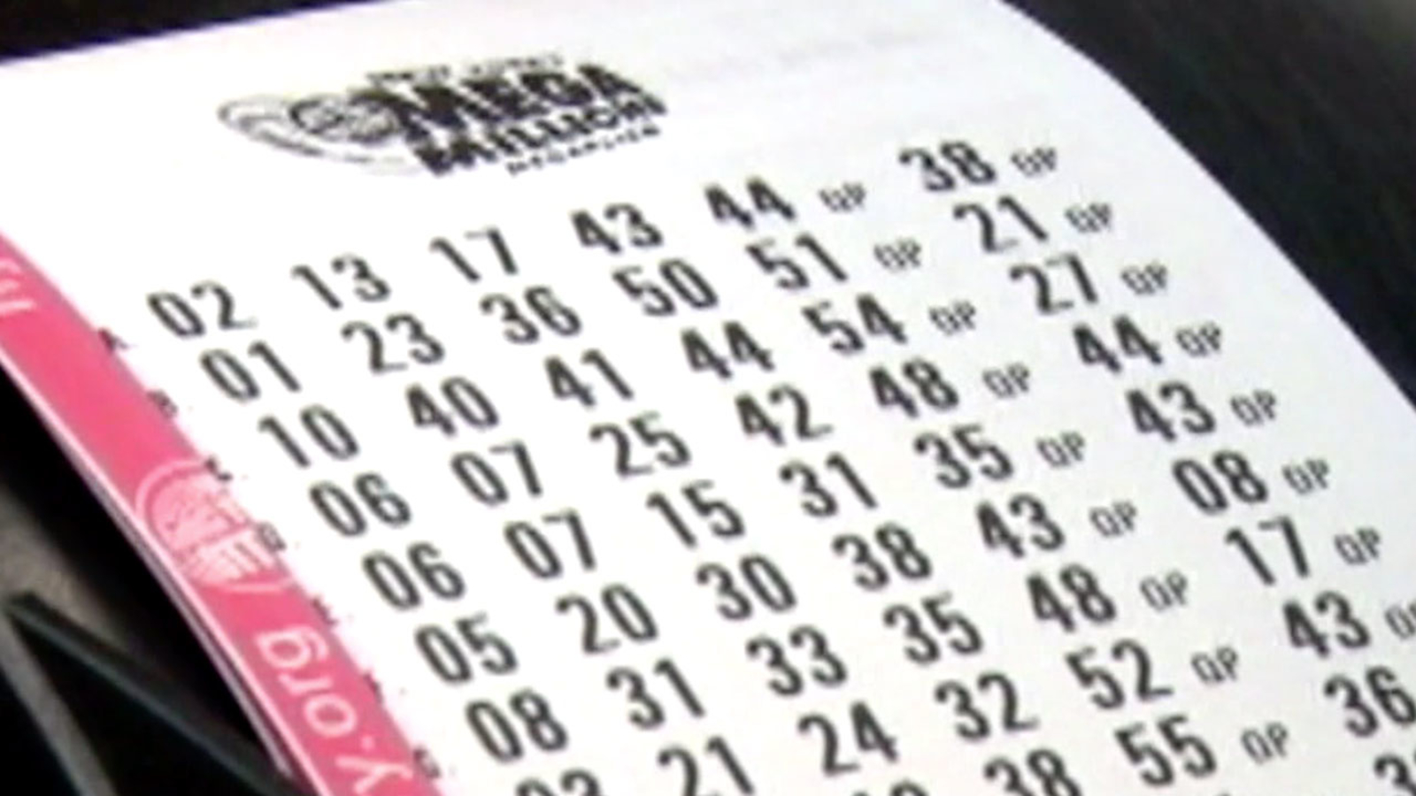 Mega Millions jackpot at $1 6B for drawing tomorrow