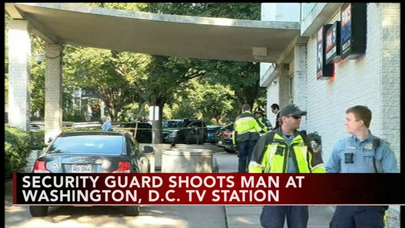 Man shot outside TV station in Washington, DC