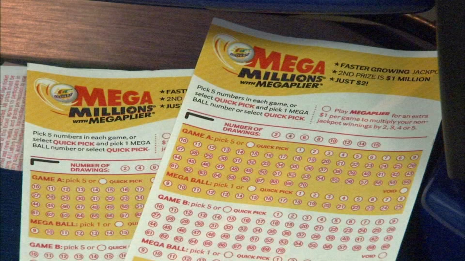 Mega Millions Jackpot At 1 6 Billion For Winning Numbers Drawing