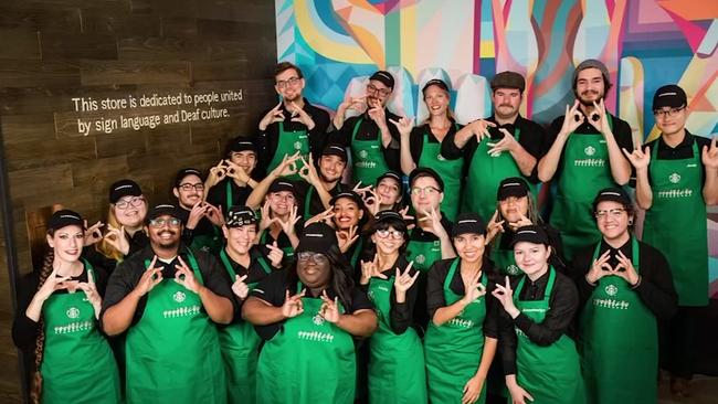 Resultado de imagem para ASL Starbucks