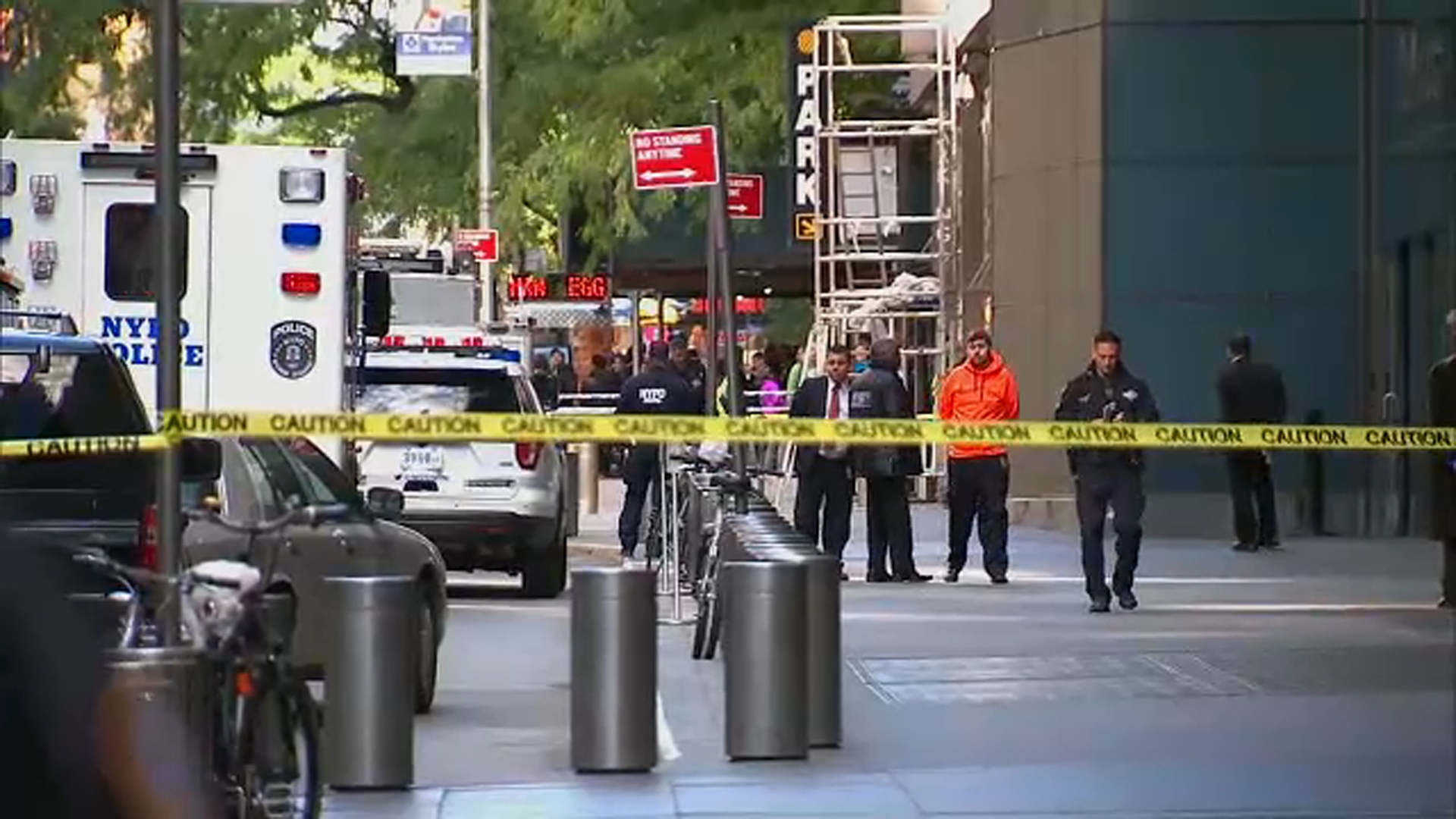 "<div class=""meta image-caption""><div class=""origin-logo origin-image none""><span>none</span></div><span class=""caption-text"">Authorities are shown on the scene of a suspicious package near the CNN building in New York.</span></div>"