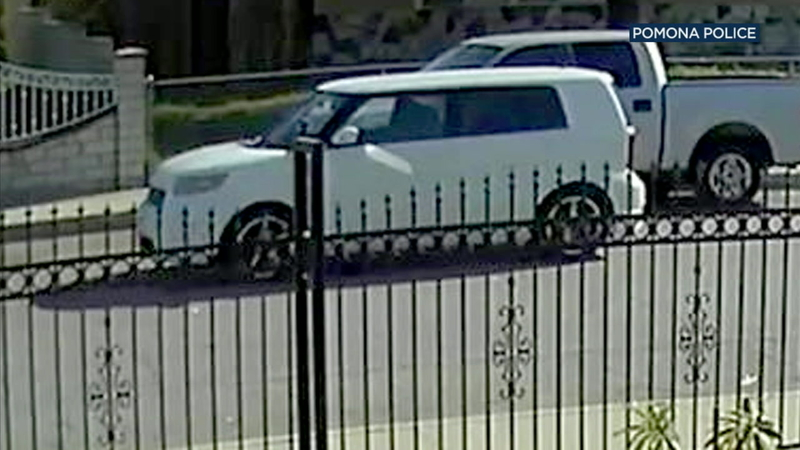 Photo shows car used in Pomona shooting that wounded boy