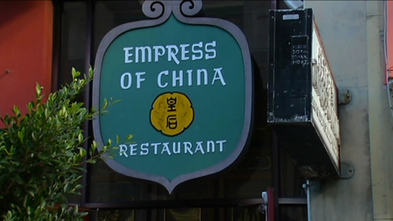 Empress of China restaurant