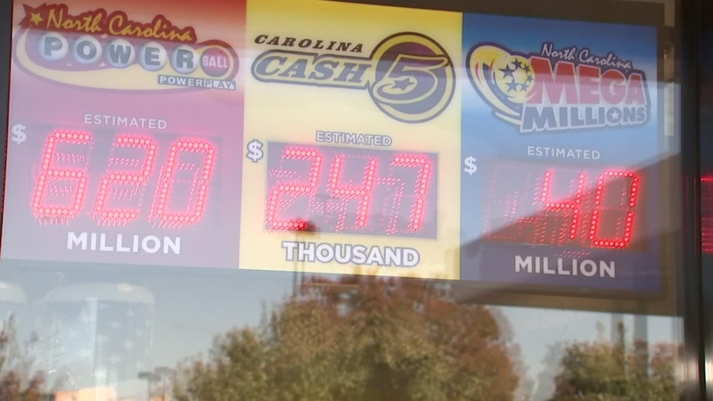 Million dollar lottery ticket sold in Cary