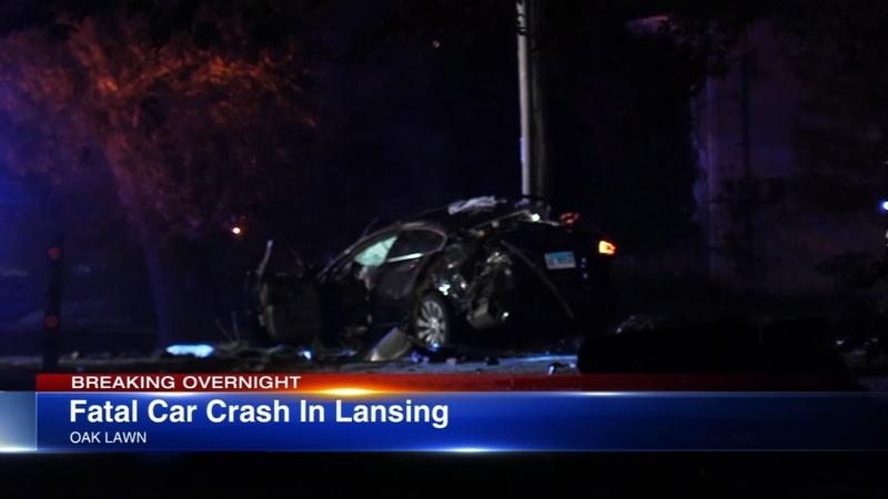 1 killed, 3 injured in Lansing crash