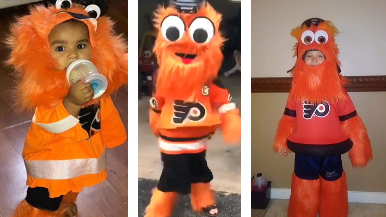one of the most popular halloween costumes in philly? gritty, of