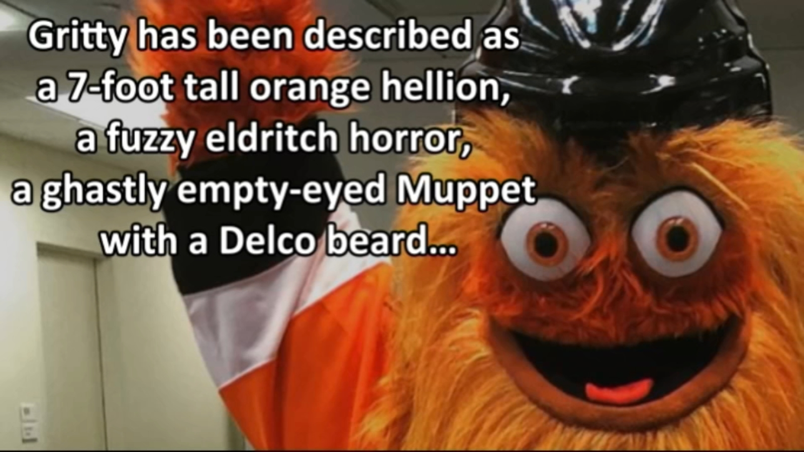 Philadelphia City Council honors Gritty, and it's hilarious
