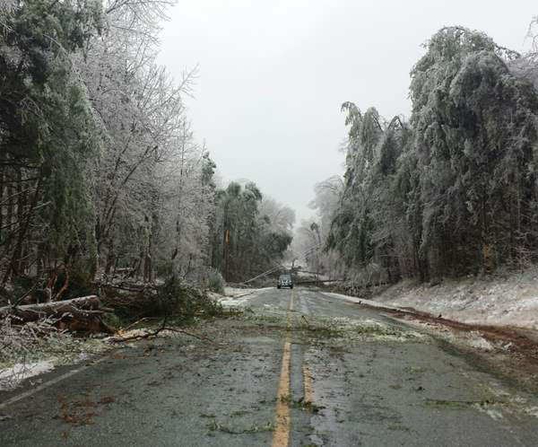 "<div class=""meta image-caption""><div class=""origin-logo origin-image ""><span></span></div><span class=""caption-text"">Cedar Grove/Efland area after an ice storm in March. (iWitness Photo)</span></div>"