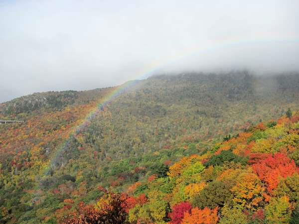 "<div class=""meta image-caption""><div class=""origin-logo origin-image ""><span></span></div><span class=""caption-text"">Rainbow and fall colors on October 11 on the Blue Ridge Parkway. (iWitness Photo)</span></div>"