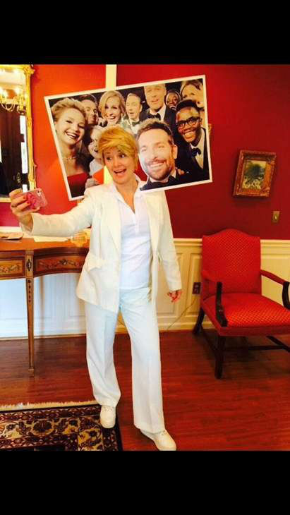 "<div class=""meta image-caption""><div class=""origin-logo origin-image ""><span></span></div><span class=""caption-text"">""My Ellen's Oscar selfie costume."" (iWitness Photo/@tammepoo)</span></div>"
