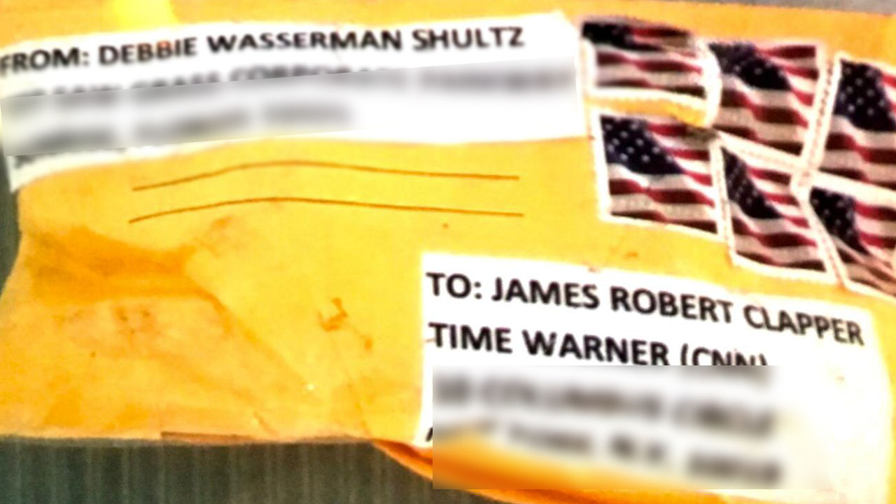 <div class='meta'><div class='origin-logo' data-origin='none'></div><span class='caption-text' data-credit=''>This is the package that was addressed to James Clapper, ABC News confirms.</span></div>