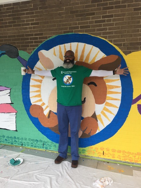 <div class='meta'><div class='origin-logo' data-origin='WTVD'></div><span class='caption-text' data-credit='Tisha Powell'>The project was inspired by this year's Read for the Record campaign selection, Maybe Something Beautiful: How Art Transformed a Neighborhood by F. Isabel Campoy.</span></div>