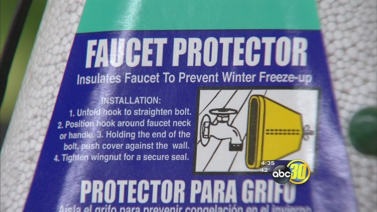 Protecting plants and pipes from the cold   abc30.com