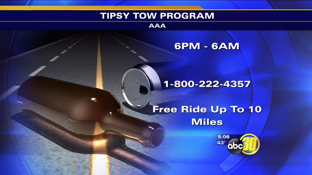 New Year's Eve - AAA Tipsy Tow