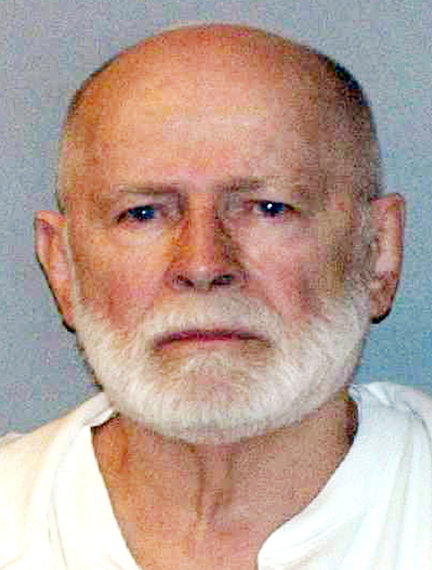 <div class='meta'><div class='origin-logo' data-origin='none'></div><span class='caption-text' data-credit='U.S. Marshals Service via AP'>Boston gangster James &#34;Whitey&#34; Bulger, one of the FBI's most wanted criminals for 16 years until his 2011 arrest, died at age 89 in prison, the Department of Justice confirmed.</span></div>