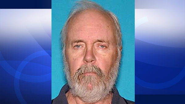Gerald Fitzsimmons, 71, of San Ramon, is missing and was last seen near Palm Desert on Wednesday, Dec. 31, 2014.