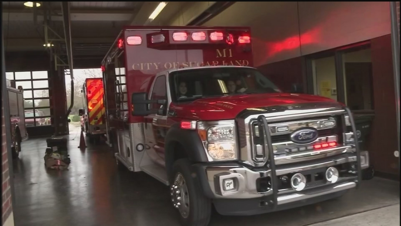 Sugar Land rolls out new ambulances