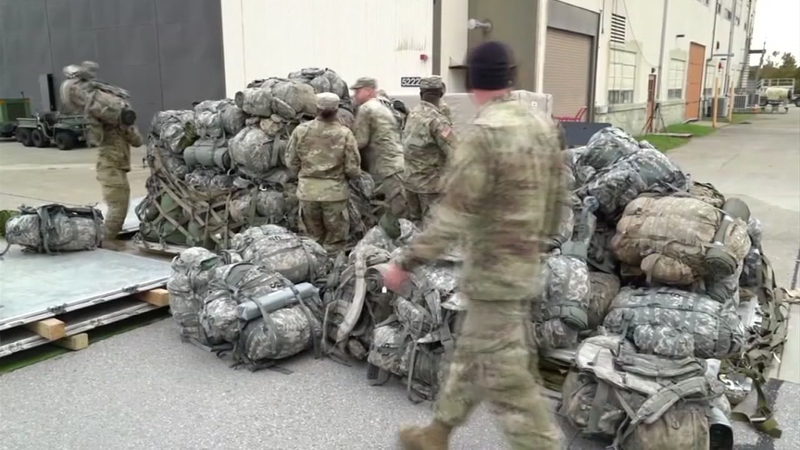 Fort Bragg officials confirm soldiers with 18th Airborne Corps deployed to  U S -Mexico border