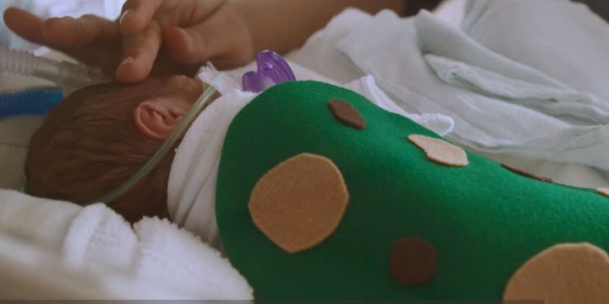 <div class='meta'><div class='origin-logo' data-origin='none'></div><span class='caption-text' data-credit='WakeMed Health & Hospitals'>A WakeMed NICU patient dressed up for Halloween in 2018.</span></div>