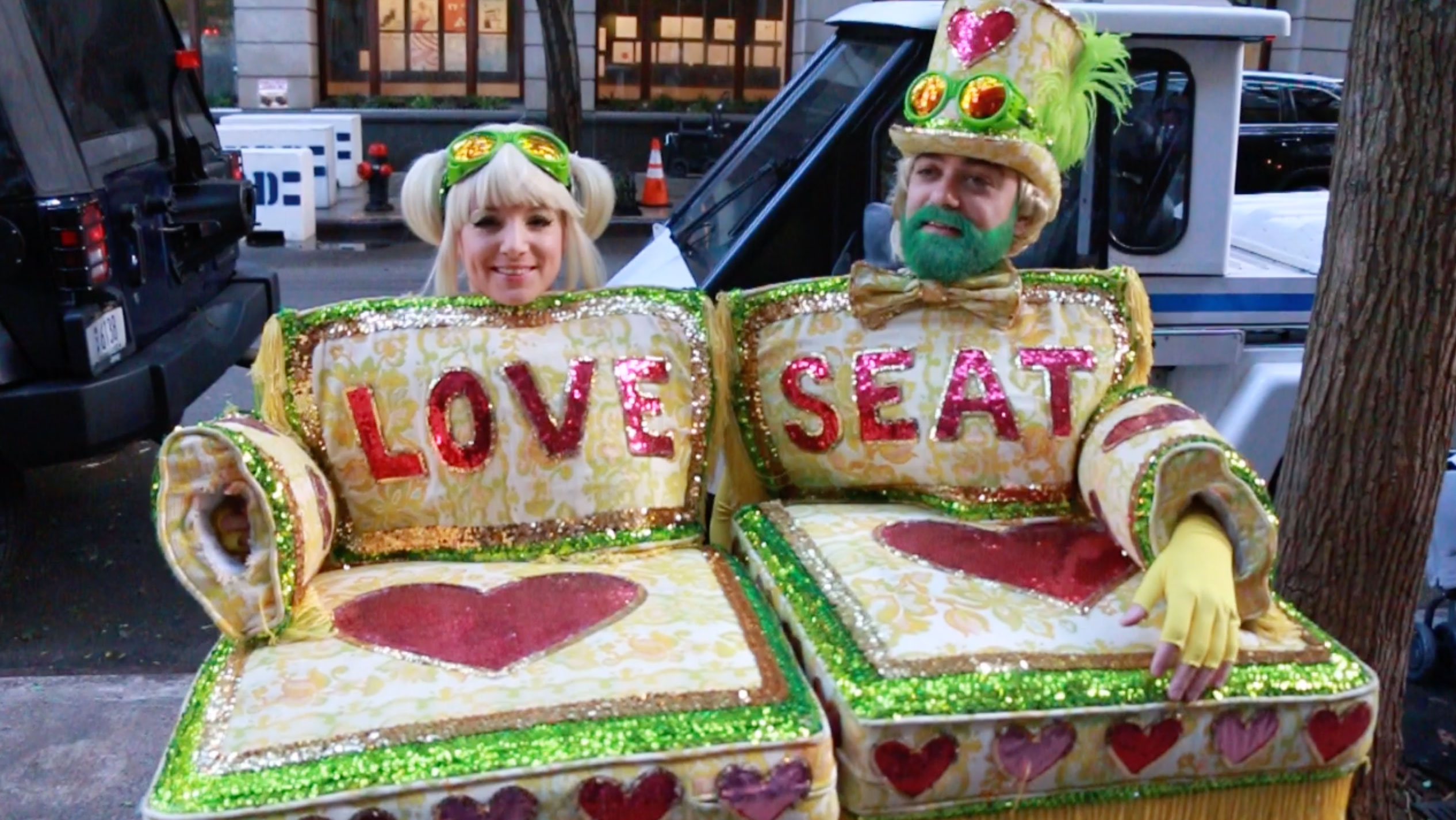 <div class='meta'><div class='origin-logo' data-origin='none'></div><span class='caption-text' data-credit=''>The winner of the costume contest was a ''love seat'' that you can really sit on.</span></div>