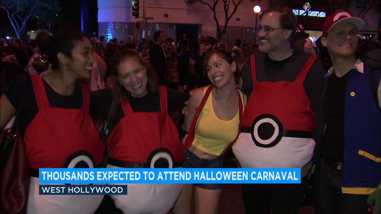halloween carnaval prompts tight security, road closures in west