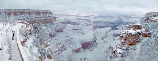 "<div class=""meta image-caption""><div class=""origin-logo origin-image ""><span></span></div><span class=""caption-text"">Snow covers the Grand Canyon in Arizona on New Year's Day. (Grand Canyon National Parks Service)</span></div>"