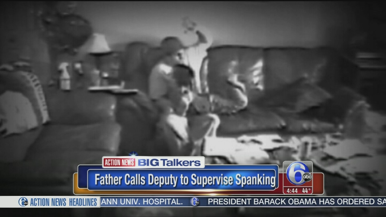 Father Calls Deputy To Supervise Daughters Spanking 6abccom