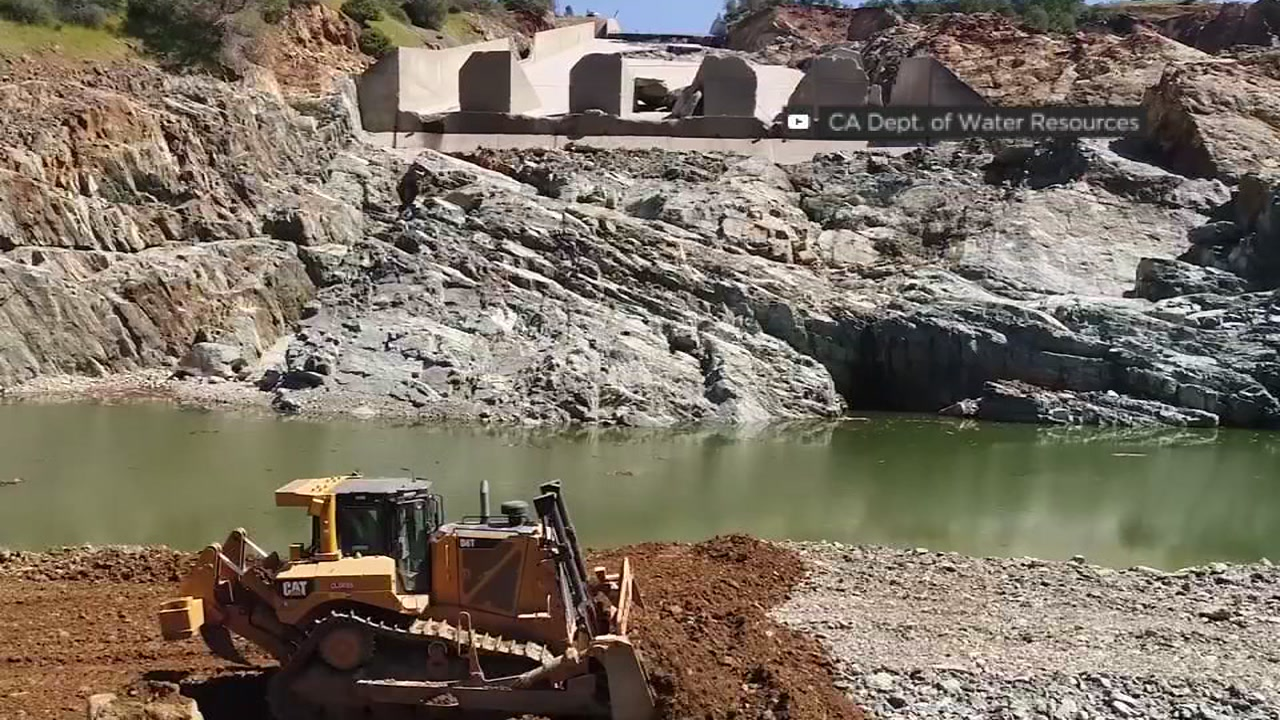 Oroville Dam spillway used for first time since 2017 failure
