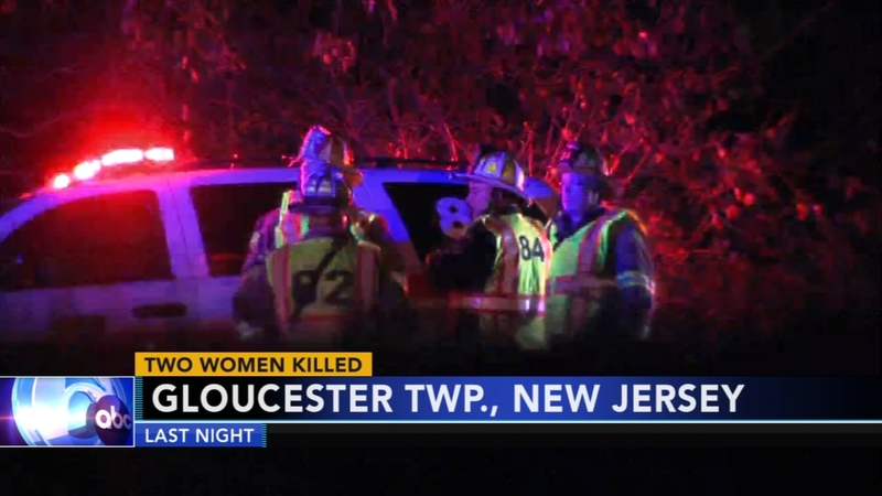 2 women killed in Gloucester Twp  crash