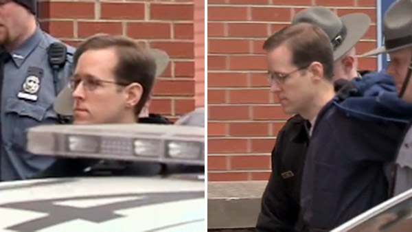 Accused cop killer Eric Frein in court