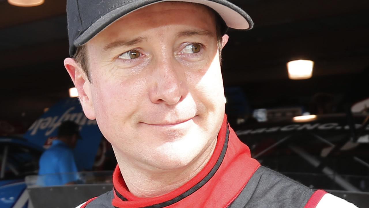 NASCAR driver Kurt Busch (AP Photo/Steve Helber)