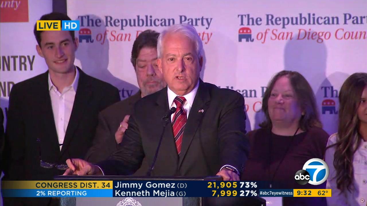 Democrat Gavin Newsom wins CA governor's race over